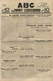 ABC : nowiny codzienne. 1935, nr249 |PDF|