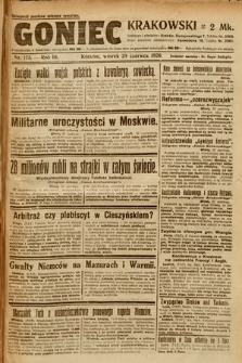 Goniec Krakowski. 1920, nr175