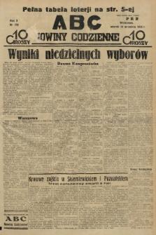 ABC : nowiny codzienne. 1935, nr258 |PDF|