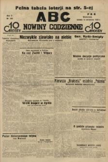ABC : nowiny codzienne. 1935, nr262 |PDF|