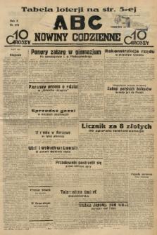 ABC : nowiny codzienne. 1935, nr274 |PDF|
