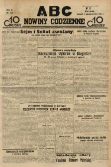 ABC : nowiny codzienne. 1935, nr279 |PDF|