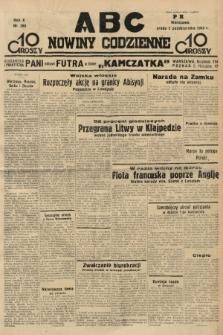 ABC : nowiny codzienne. 1935, nr280  PDF 