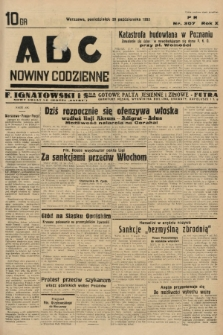 ABC : nowiny codzienne. 1935, nr307 |PDF|