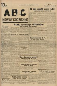 ABC : nowiny codzienne. 1935, nr310 |PDF|