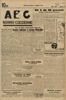 ABC : nowiny codzienne. 1935, nr311 |PDF|