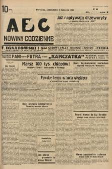 ABC : nowiny codzienne. 1935, nr[315] [ocenzurowany] |PDF|