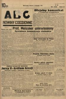 ABC : nowiny codzienne. 1935, nr316 |PDF|