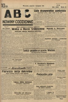 ABC : nowiny codzienne. 1935, nr318 |PDF|