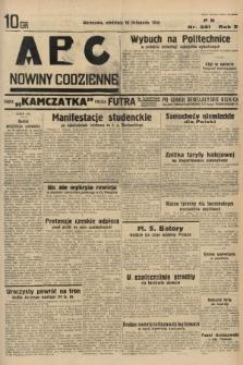 ABC : nowiny codzienne. 1935, nr321 |PDF|