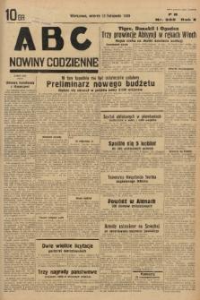 ABC : nowiny codzienne. 1935, nr323 |PDF|