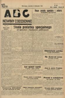 ABC : nowiny codzienne. 1935, nr325 |PDF|