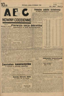 ABC : nowiny codzienne. 1935, nr327 |PDF|