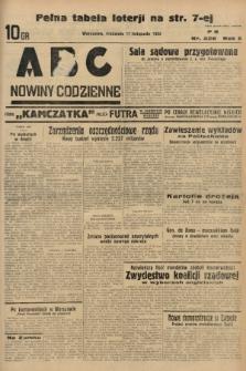 ABC : nowiny codzienne. 1935, nr328 |PDF|