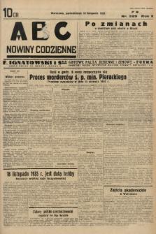 ABC : nowiny codzienne. 1935, nr329 |PDF|