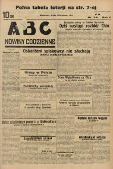 ABC : nowiny codzienne. 1935, nr331 |PDF|