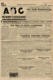 ABC : nowiny codzienne. 1935, nr336 |PDF|