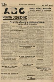 ABC : nowiny codzienne. 1935, nr337  PDF 