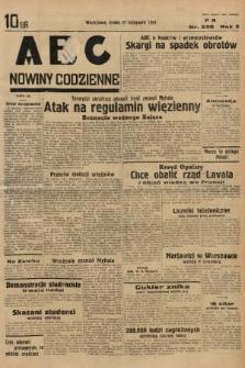 ABC : nowiny codzienne. 1935, nr338 |PDF|