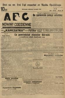 ABC : nowiny codzienne. 1935, nr342 |PDF|