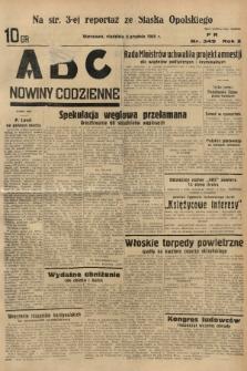 ABC : nowiny codzienne. 1935, nr349  PDF 