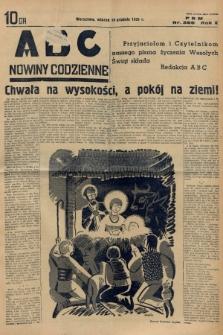 ABC : nowiny codzienne. 1935, nr366 |PDF|