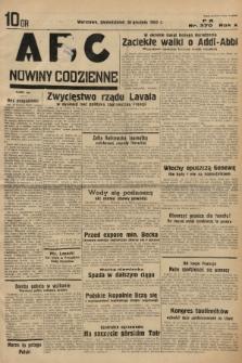ABC : nowiny codzienne. 1935, nr370  PDF 