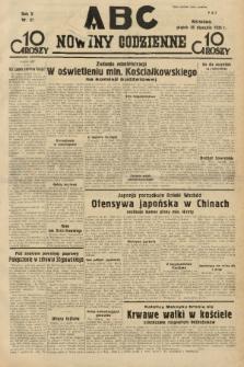 ABC : nowiny codzienne. 1935, nr27  PDF 
