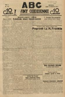 ABC : nowiny codzienne. 1935, nr119 |PDF|