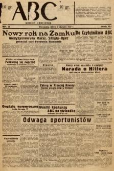 ABC : nowiny codzienne. 1937, nr2 |PDF|