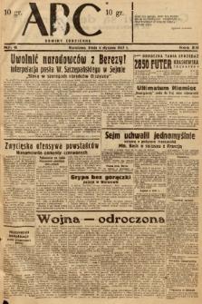 ABC : nowiny codzienne. 1937, nr6 |PDF|