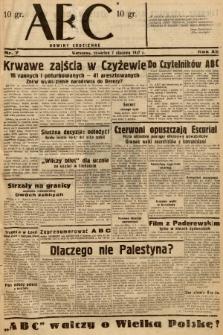 ABC : nowiny codzienne. 1937, nr7  PDF 
