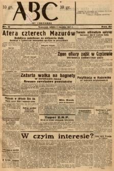 ABC : nowiny codzienne. 1937, nr9 |PDF|