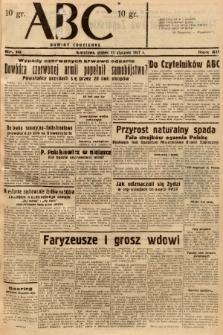 ABC : nowiny codzienne. 1937, nr16 |PDF|