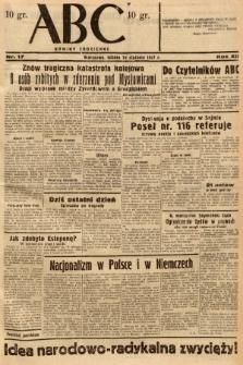 ABC : nowiny codzienne. 1937, nr17 |PDF|