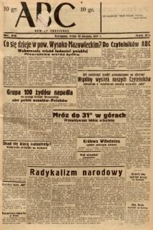 ABC : nowiny codzienne. 1937, nr22 |PDF|