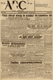 ABC : nowiny codzienne. 1937, nr23  PDF 