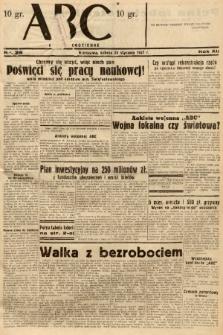 ABC : nowiny codzienne. 1937, nr26 |PDF|