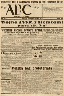 ABC : nowiny codzienne. 1937, nr27 |PDF|