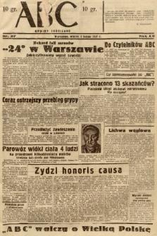 ABC : nowiny codzienne. 1937, nr37  PDF 