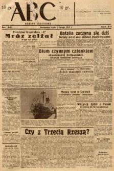 ABC : nowiny codzienne. 1937, nr38 |PDF|