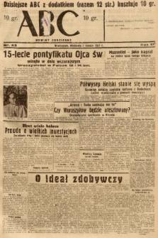 ABC : nowiny codzienne. 1937, nr43 |PDF|