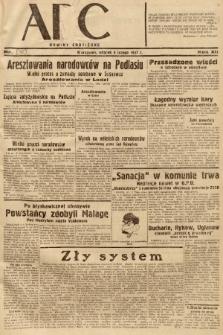 ABC : nowiny codzienne. 1937, nr46 [ocenzurowany] |PDF|