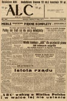 ABC : nowiny codzienne. 1937, nr60 |PDF|