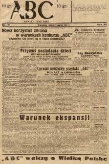 ABC : nowiny codzienne. 1937, nr71 |PDF|