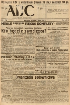 ABC : nowiny codzienne. 1937, nr77  PDF 