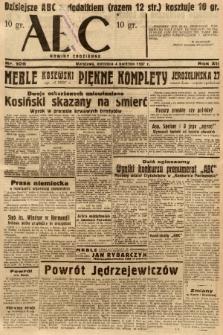 ABC : nowiny codzienne. 1937, nr105 [ocenzurowany] |PDF|