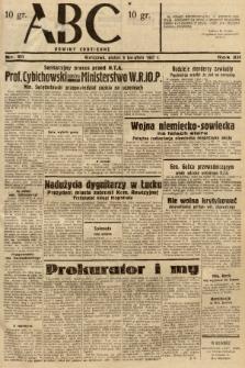 ABC : nowiny codzienne. 1937, nr111 |PDF|