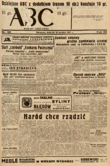 ABC : nowiny codzienne. 1937, nr121 |PDF|