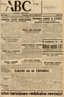ABC : nowiny codzienne. 1937, nr124 |PDF|